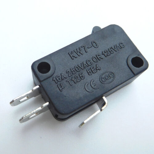 Microswitches KW7-0 3Pins 125V 16A Air Fryer Oven Electric Cooker Micro Switch