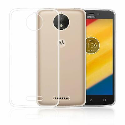 For Motorola Moto C Plus Case Clear Silicone Gel Phone Cover