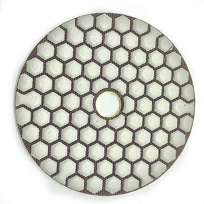 4 Ceramic Bond Polishing Pad Dry 15 Pieces Grit 50 100 Grinder Polisher Granite