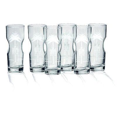 Afri-Cola Glas, Gläser-Set - 6stk