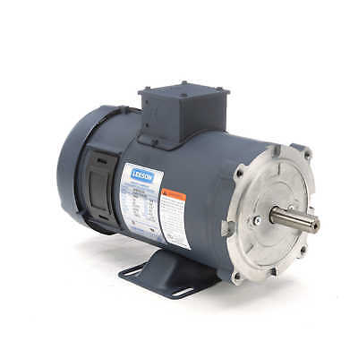 Leeson Electric Motor 108052.00 34 Hp 1800 Rpm 24 Volt Vdc Dc 56c Frame