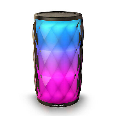 LED Portable Bluetooth Stereo Speaker Wireless Pulse LED Dancing Light For Party Party Portable Bluetooth