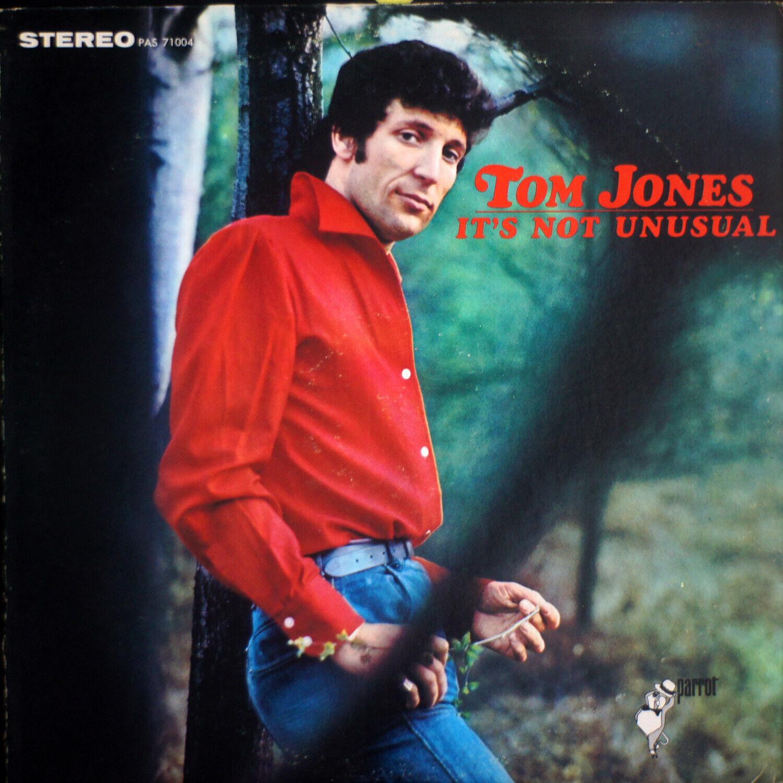 TOM JONES ITS NOT UNUSUAL EX/EX 0258 LP Record - $15.00