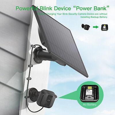 New MYRIANN Solar Panel Blink XT Security Camera Wall Mount Outdoor Weatherproof Camera Outdoor Wall