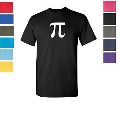 Pi Greek Letter - Pi Symbol Mathematicians Greek letter  T-Shirt Shirt Tee SIZES S-5XL