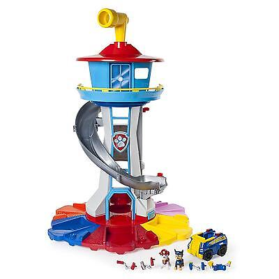 Paw Patrol Tower Lookout Vehicle Rotating Periscope Lights Sounds Kids Toys New