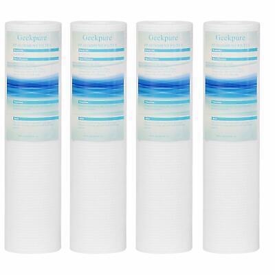 4 Packs PP Sediment Water Filter Replacement Polypropylene Cartridge 2.5