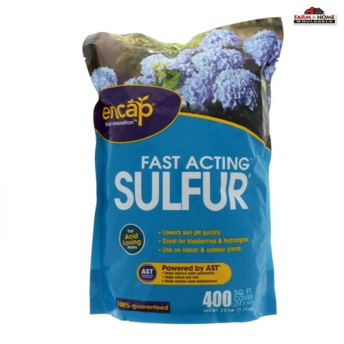 Encap Fast Acting  Soil Sulphur  400 Sq Ft ~ NEW