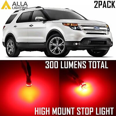 Alla Lighting 3rd Center High Mount Brake Light 2825 922 Red LED Bulb for Ford