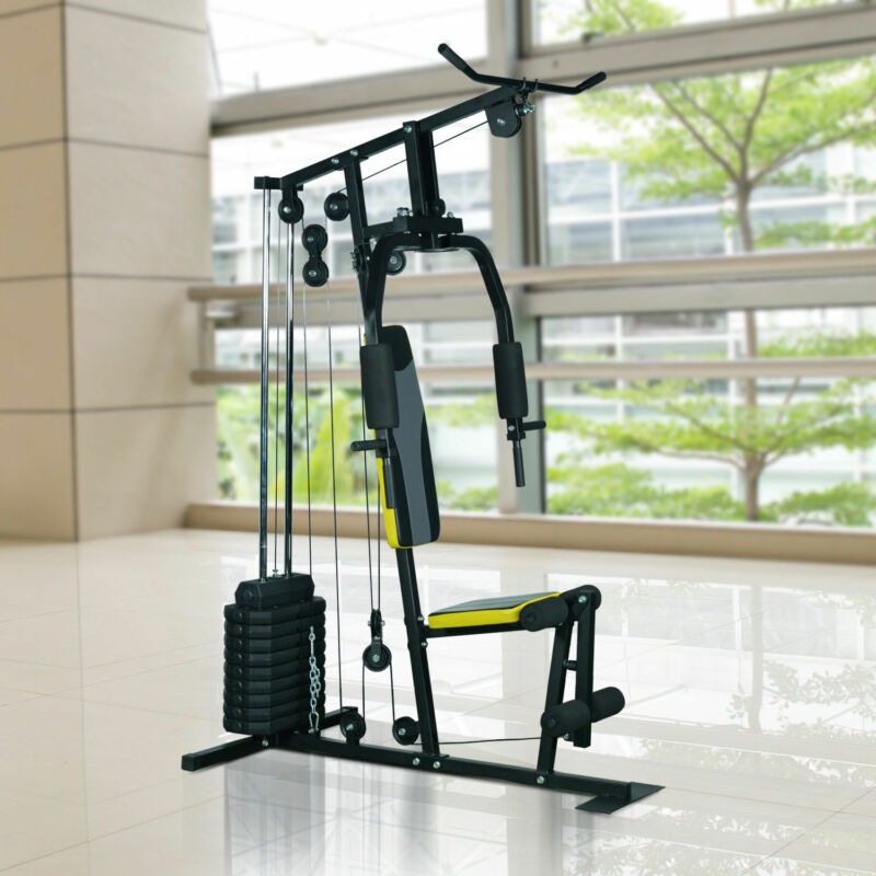 Home Gym Weight Bench Workout Exercise Machine Strength Fitness Equipment Body