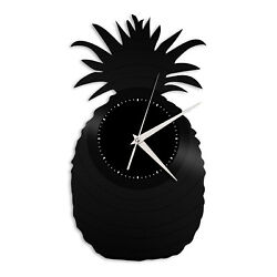 Pineapple Vinyl Wall Clock Record Unique Design Home and Living Room Decoration