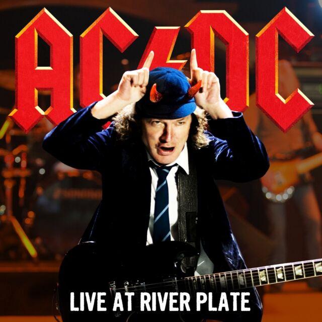 AC/DC - LIVE AT RIVER PLATE 2 CD NEU (mit T-Shirt Größe L) Limited Edition