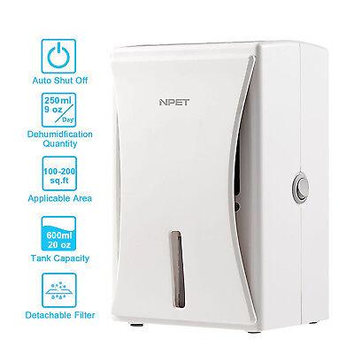 Electric Mini Dehumidifier 2800 Cubic Feet For Moisture at Home Bathroom Closet