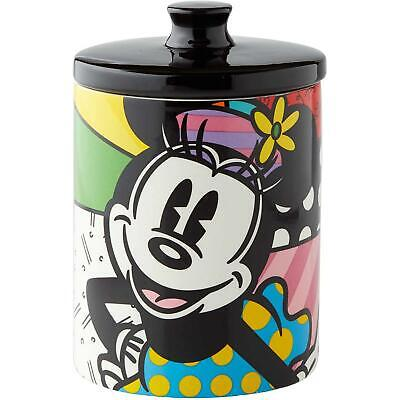 Disney Britto Collection Minnie Mouse Cookie Jar and Storage Container With Lid