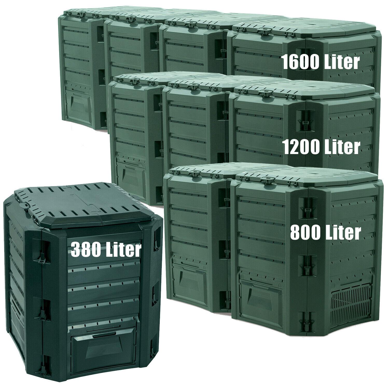 Komposter XXL Dodekagon 12 Teile 2.800-7.700 Liter zink Laub Rasen Hochbeet