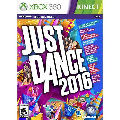 Just Dance 2016 Xbox 360 [Brand New]