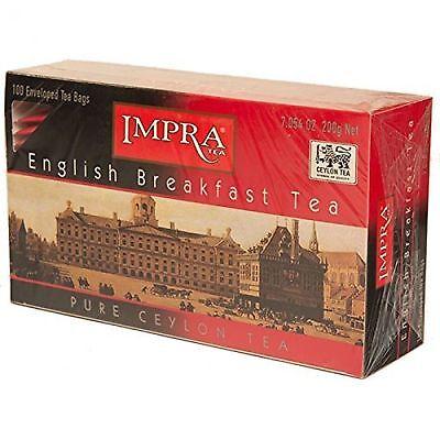 Impra English Breakfast 100% Pure Ceylon Tea 100 Teabags