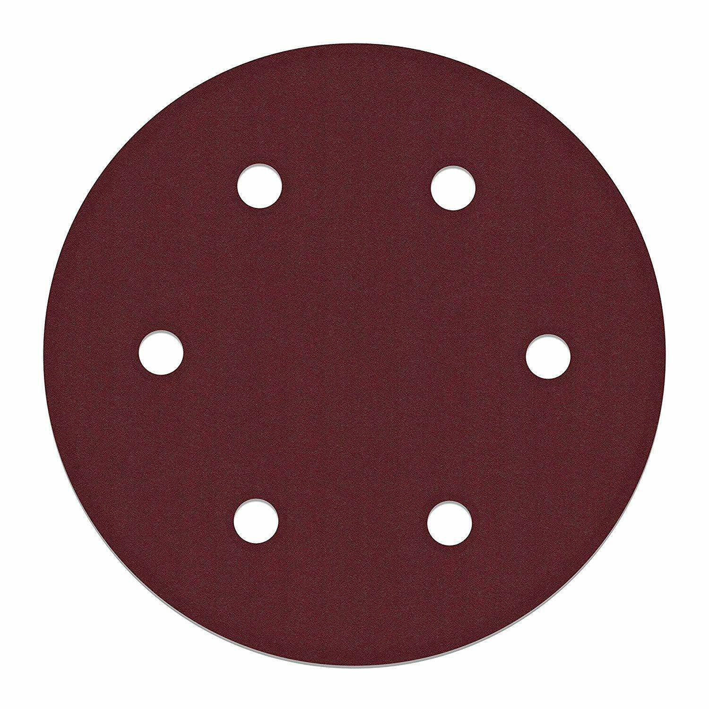 ALEKO 10SPDP3000-100G 9 Inch 6 Hole 100 Grit Sanding Discs S