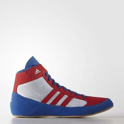 factory price 5fcb8 02ec3 New Adidas Men s HVC 2 Wrestling Shoes Red White Blue USA