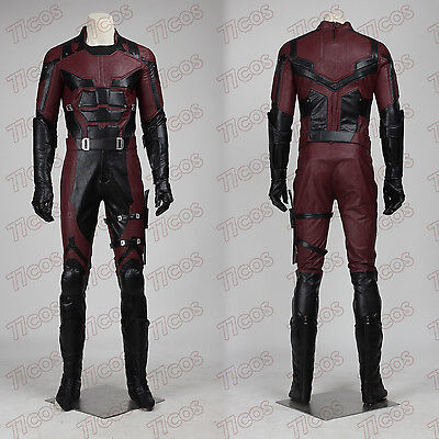 Daredevil Matthew Michael Murdock Cosplay Costume Outfit Custom Made All Size for sale  China