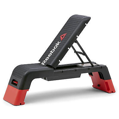 Reebok Studio Deck Aerobic Step Gym Platform Incline Flat Decline Workout Bench for sale  Shipping to South Africa