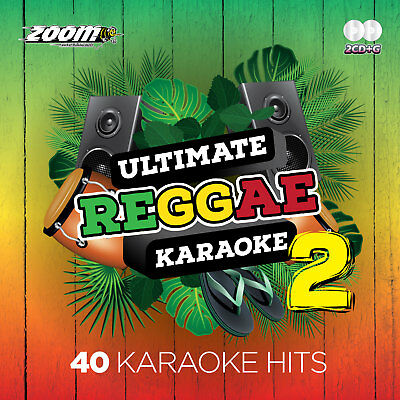 Zoom Karaoke Ultimate Reggae Karaoke Vol.2 CD+G - 40 Songs on 2 CD+G Discs!