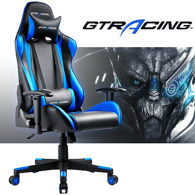 Gtracing Pu Executive Gaming Chair Leather High Back Office Recliner Chair