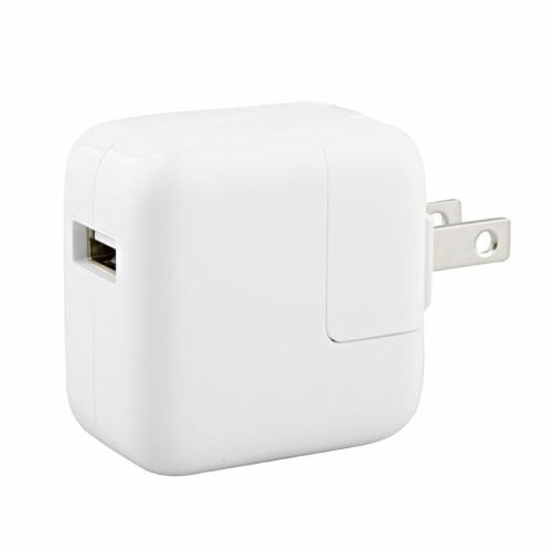 OEM Apple 12W USB Wall Charger for iPad Mini Air iPhone X 5 6 7s 8