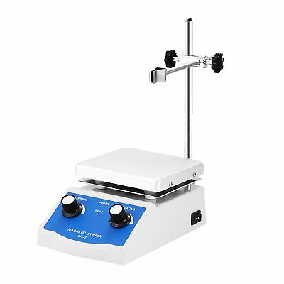 Sh-2 Magnetic Stirrer Heating Plate Magnetic Mixer Hotplate 1000ml Us Free Ship
