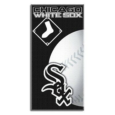 CHICAGO WHITE SOX BEACH TOWEL MLB BASEBAL TEAM EMBLEM LOGO  POOL BATH 30