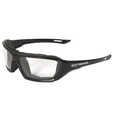 Radians Clear Safety Glasses, Anti-Fog, Foam Lined, XT1-11