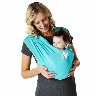 Baby K'tan Breeze Teal Carrier Wrap Small Extra Small Large (Large Baby Carrier)