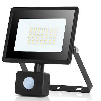 Aigostar 30W Foco LED con Sensor Movimiento 2700LM Super Brillo IP65 Impermeable