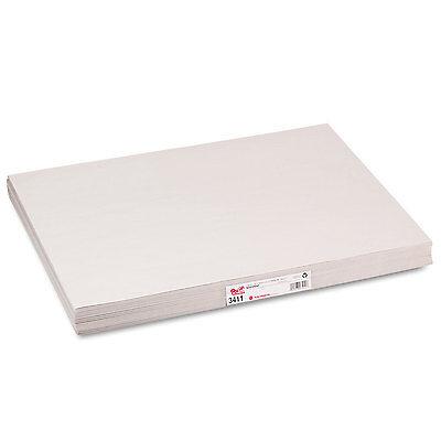 Pacon White Newsprint 30 lbs. 18 x 24 White 500 Sheets/Pack 3411