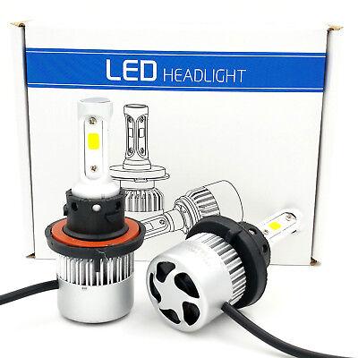 H13 1020W 153000Lm Cree Led Headlight Kit High Low Beam Bulbs White 6000K Power