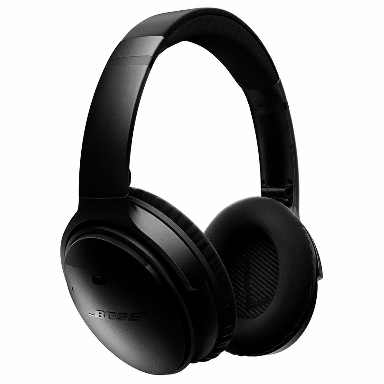 Bose QuietComfort 35 Series I Wireless Headphones, Factory Renewed Black