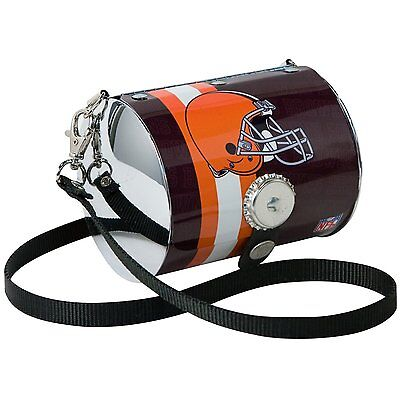 NFL Cleveland Browns Petite Metal Purse Bag Pro-FAN-ity by Littlearth Football - Littlearth Petite Purse