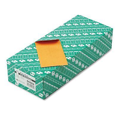 - Quality Park - Kraft Coin & Small Parts Envelope, Side Seam, #5 1/2, Brown Kraft