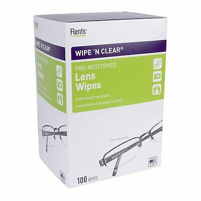 Flents Wipe N Clear Lens Cleaning Wipes (100 Count) ()