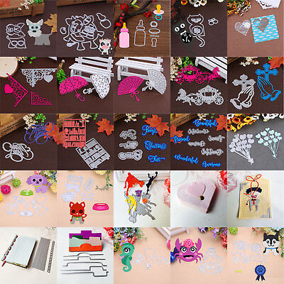 Metal Cutting Dies Stencil Scrapbooking Paper Card Embossing Craft Diy Die Cut