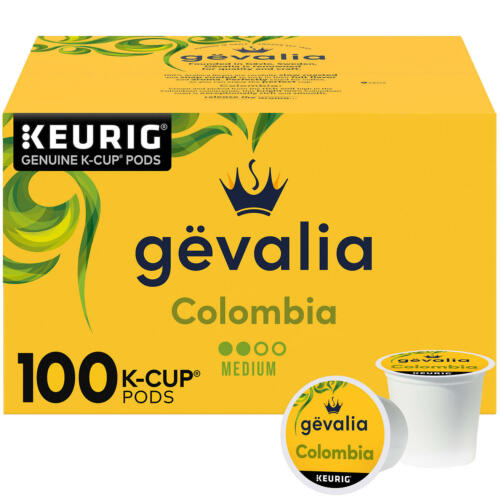 Gevalia Colombian K-Cup Coffee Pods (100 ct.) Free Shipping 100%