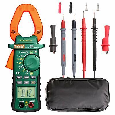 Tester Dc Voltage Rms Amp True Test Clamp Digital Meter Ac Multimeter New