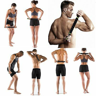 Sportneer Muscle Roller Stick Body Massage Sticks Tools for Releasing Myofascial for sale  USA
