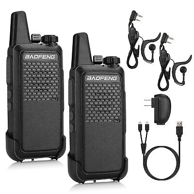 Baofeng GT-22 UHF Handheld 1500mAh Mini Walkie Talkie Two-Way Radio Business Use