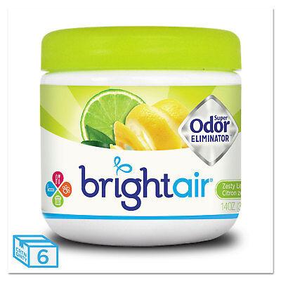 BRIGHT Air Super Odor Eliminator Zesty Lemon and Lime 14 oz 6/Carton 900248