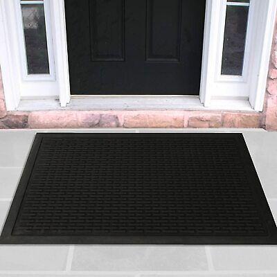 24 x 36 Outdoor Floor Mat Commercial Entrance Indoor Rubber Entry Rug Non-Slip