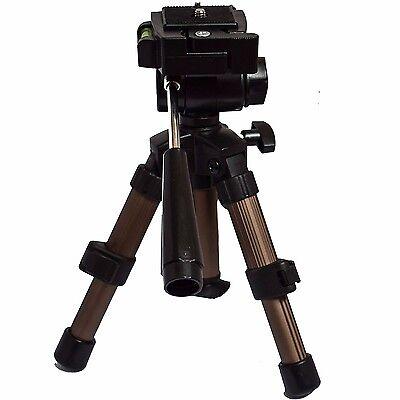 Eurosell Profi Mini Tischstativ Kamera Tisch Stativ DSLR Camcorder Foto Video
