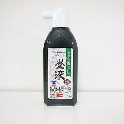 NEW Japanese Chinese Calligraphy Sumi Ink Bokuju 012155 180ml 1 Bottle Free S/H