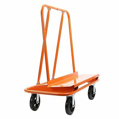 Heavy Duty Drywall Sheet Cart Panel Dolly Steel Swivel Wheels Construction Pro
