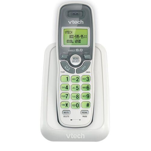 VTech CS6114 Cordless Phone with Caller ID / Call Waiting - White/Grey (CS6114)™